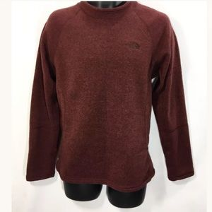 THE NORTH FACE Mens Umber Fleece Top Size S